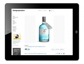 5th Gin · Designspiration